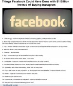 Funny facebook fails – Failbook: What Facebook Could Have Done With a Billion Dollars Besides Buying