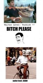 Waiter levels
