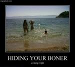 Hiding your boner