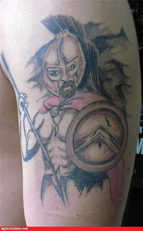funny tattoos - Ugliest Tattoos: Nice Rack!