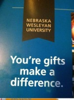 "Monster fail photos - School of Fail: ""You're"" Gifts to Higher Education"