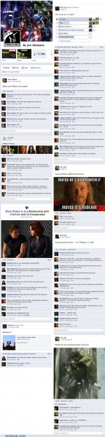 Funny facebook fails – Failbook: The Avengers' Timeline