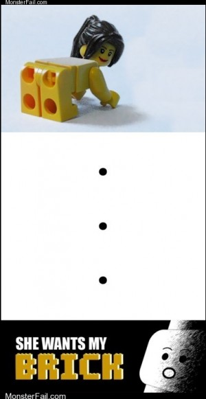 Dating fails: Anatomically Correct Legos Frighten Me