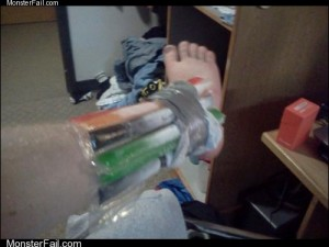 Monster fail photos: Healthcare Level: College Student