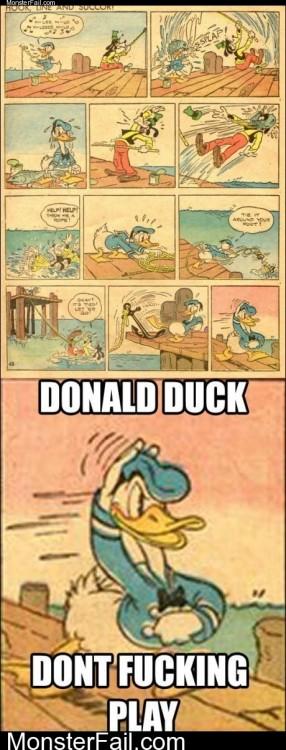 Donald Duck Badass
