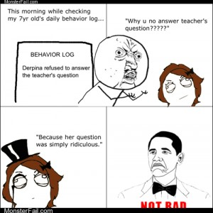 Internet memes Rage Comics Are You Smarter Than a Second Grader