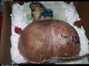 D ass cake