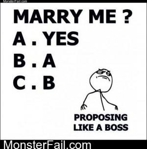 Proposing Like A Boss