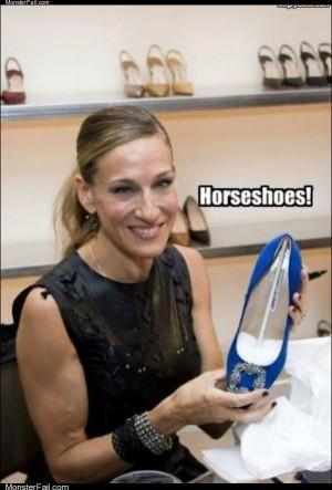Horse shoes