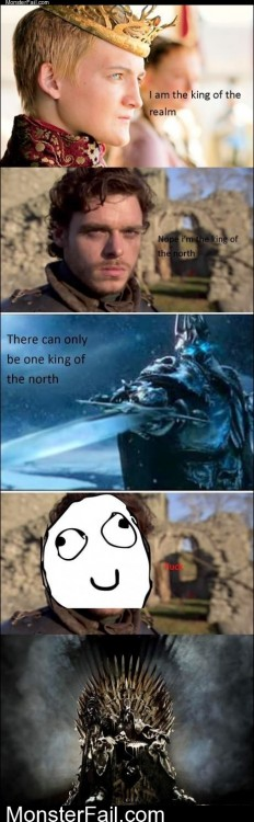 Game Of Thrones Vs WOW