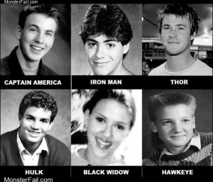 Homework class test  The Avengers Yearbook