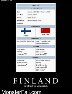 Finland WTF