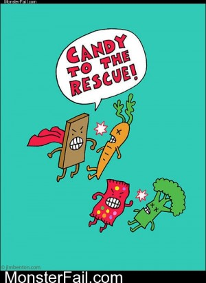 Candy To The Rescue