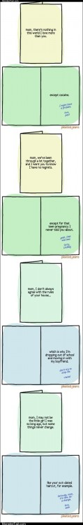 Emo scene hipster Go Cry Emo Kid Confessional Mothers Day Cards