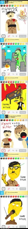 Monster fail photos  Ignoring Hitler is All the Rage
