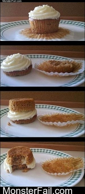 How To Eat Cupcakes