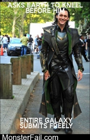 Ridiculously Photogenic Loki