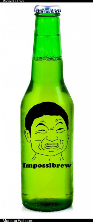 An Impossibry Refreshing Beverage