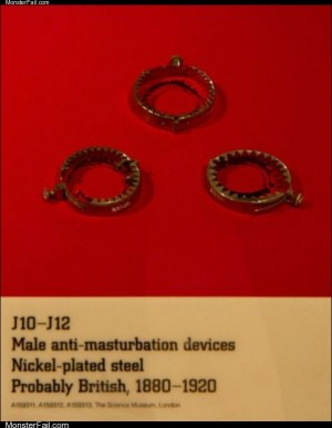 Anti masturbation devices