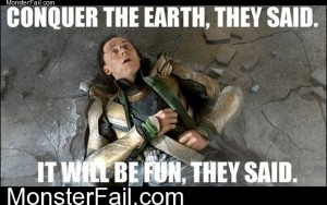 Conquer The Earth They Said