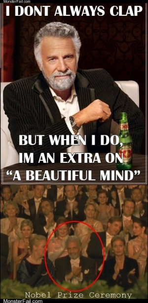The Most Interesting Extra in the World