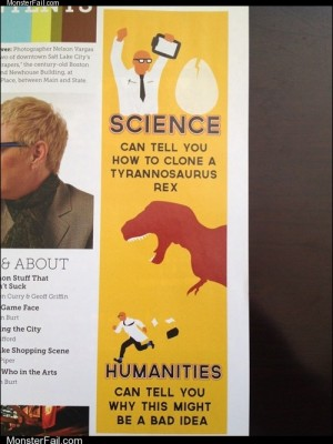 Homework class test  Humanities is Also a Great Way to Not Be Employed