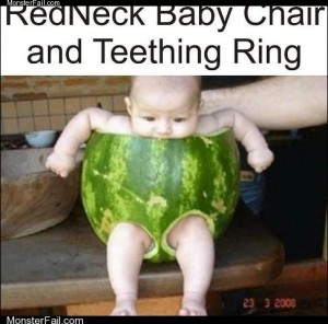 White trash repairs  Parenting Level Watermelon