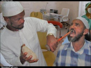 Traditional dentist