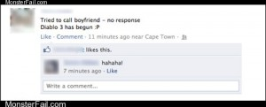 Funny facebook fails  Error 37 Boyfriend Not Found