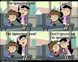 When Girls Ignore You