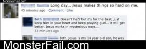 Jesus Needs Detention