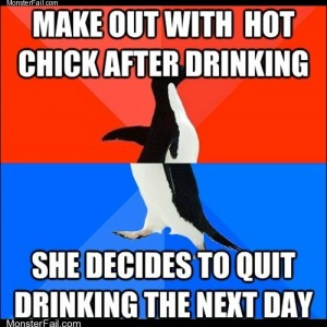 Social Drinker Penguin