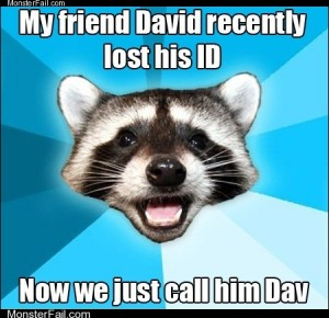 Lame Pun Coon I Cant Let You Lose That Dav