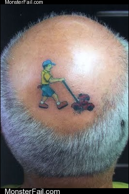 Ridiculous Head Tattoo