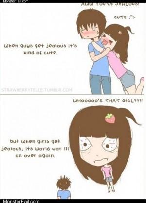 Awww youre jealous so cute