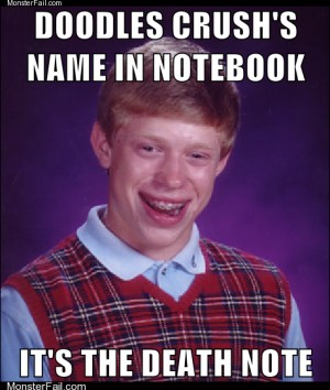 Bad Luck Brian Hurts Everyone He Cares About
