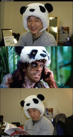 Never Go Full Panda