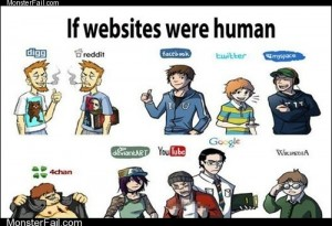 If websites were human