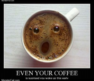 Surprised Coffee