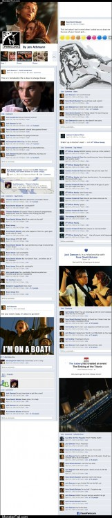 Funny facebook fails  If the Titanic Had WiFi