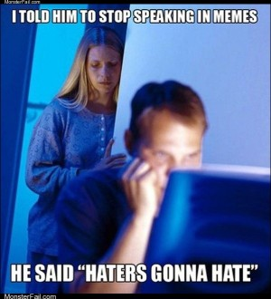 Stop speaking in memes