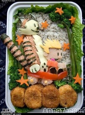 Monster fail photos WIN Calvin and Hobbes Bento WIN