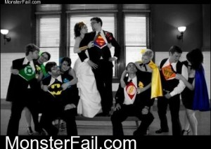 Monster Wedding Photo
