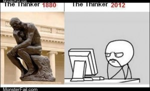 The More Thinks Change