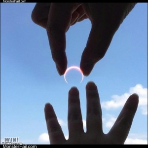 Monster fail photos WIN Eclipse Ring WIN