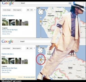Smooth Criminal on Google Maps