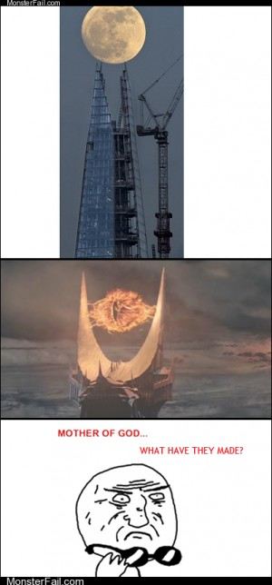 Build The Shard they said itll be fun they said