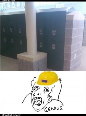 The Locker Was Assigned to Bad Luck Brian