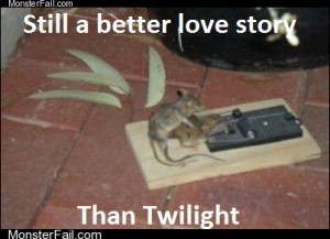 Even a necrophiliac mouse is more romantic than Edward
