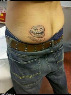 Troll tattoo